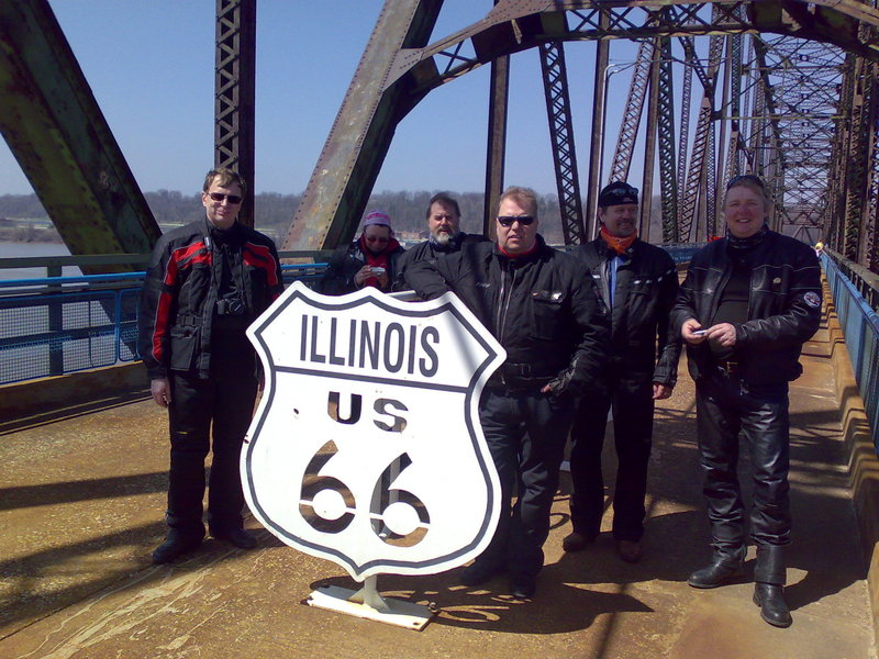 Route66 Day2: Illinois ja Missouri